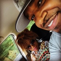 Carmen and I on the way to Cincinnati • 08.19.16