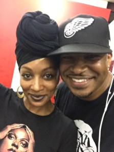 At rehearsal with Sy Smith for her DC show • 08.30.16