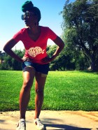 Sy Smith rockin' her 'Star...' tee