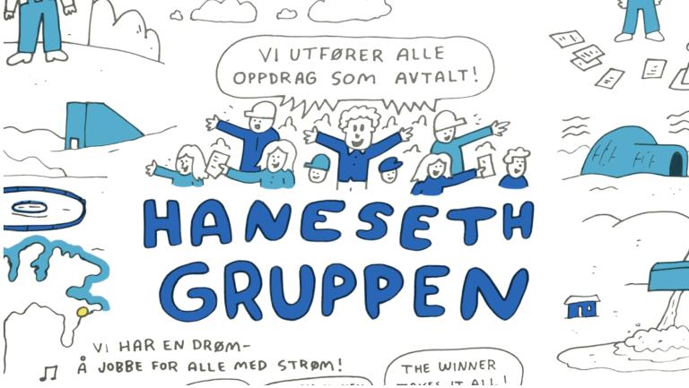 Forklaringsfilm for Haneseth Gruppen — Historien