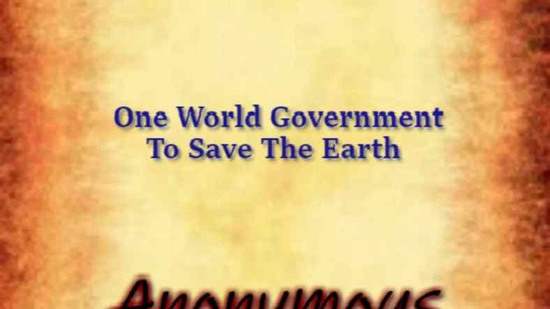 The World Constitution: One World Government can save The Earth 1