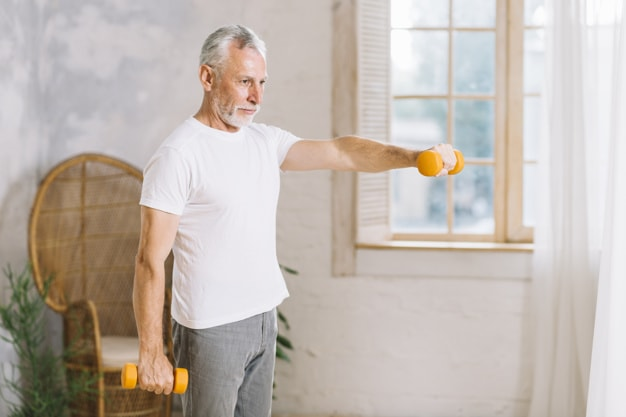 Seniority Health - Perfect Way to Stay Fit for Men above 40 1