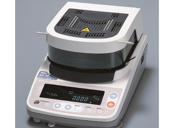 weighing moisture analyzers