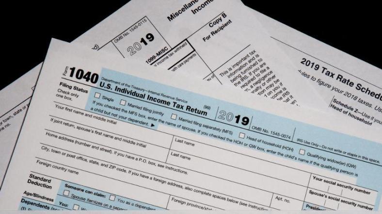 paper tax return to benefit