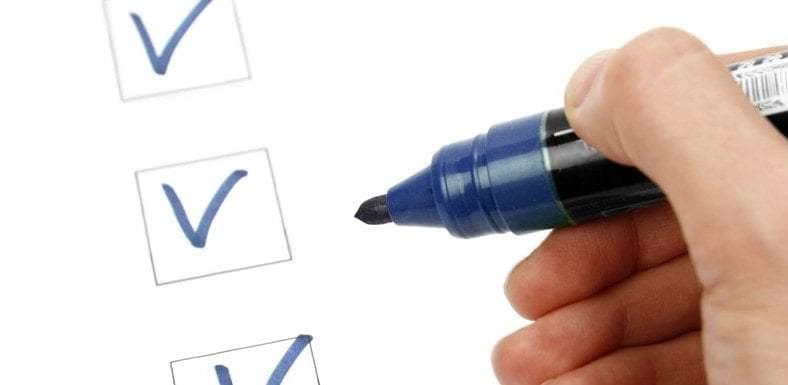 Make a Tax Return Checklist
