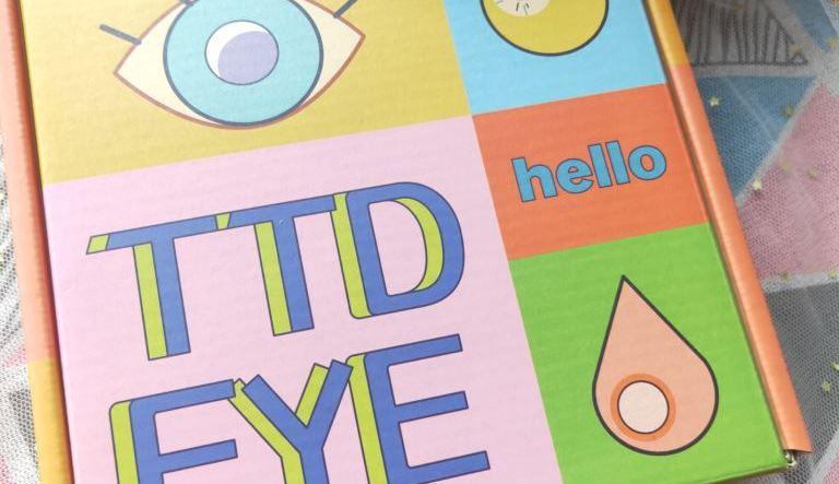 TTDeye Ocean Cyan Grey Colored Contact Lenses
