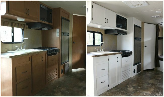 How to Paint RV Cabinets the Best Way