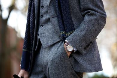 Styles of Wearing Tweed