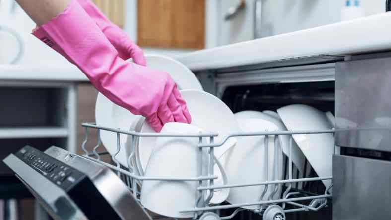Dishwasher for cleaning