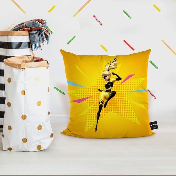 Custom Face and Yellow Pillows with Washing Method 2