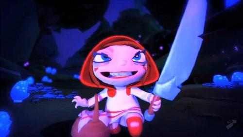 Screenshot Trailer: Rotkäppchen in Fairytale Fights