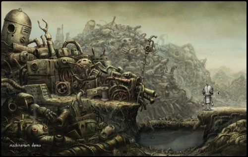 Screenshot: Machinarium Demo (Mac-Version)