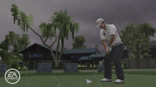 Im Regen (TIGER WOODS PGA TOUR 10)