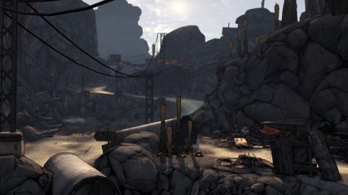 Screenshot BORDERLANDS: Willkommen in den Borderlands! (Quelle: www.borderlandsthegame.com)