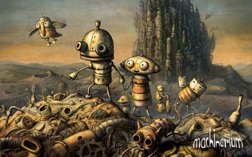 Machinarium Wallpaper
