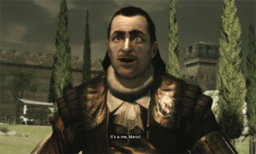 Ezios Onkel Mario bei Assassin's Creed 2