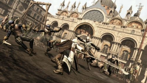 Assassin's Creed II: Sweeping Ezio