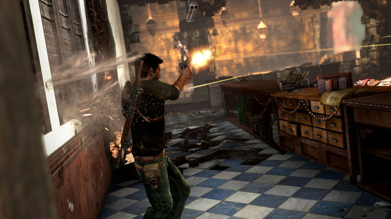 Uncharted 2 - Schusswechsel (Quelle: http://www.unchartedthegame.com/U2AT/)><img loading=