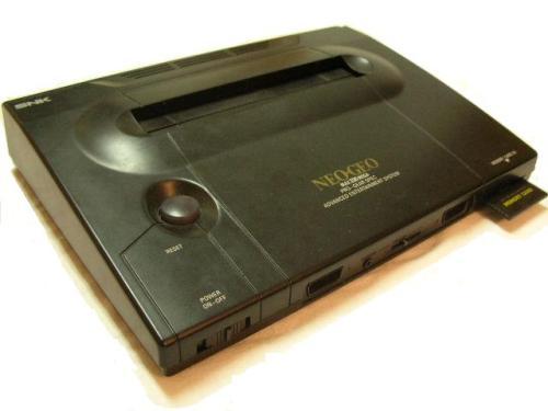 Das Neo Geo in seiner Konsolenform