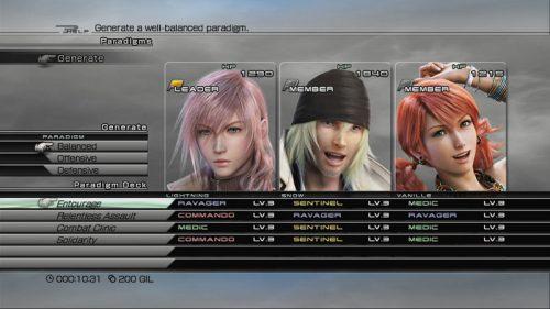 Final Fantasy XIII - Wie blöd Paradigmen durch die Gegend shiften