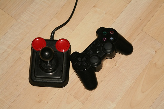 Competition Pro vs. PS3 Controller