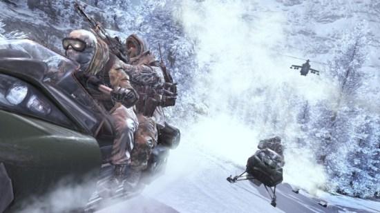 Auf der Flucht. Alles ist schneller als zu Fuß! (CoD: Modern Warfare II)