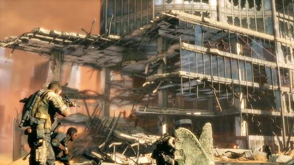 Ruine in Dubai (Spec Ops: The Line)