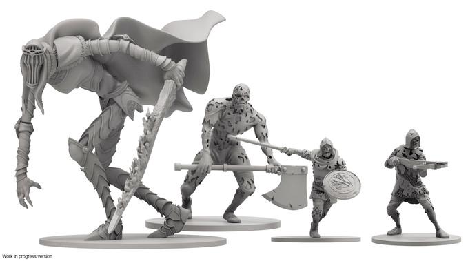 Dark Souls Brettspiel: Figuren