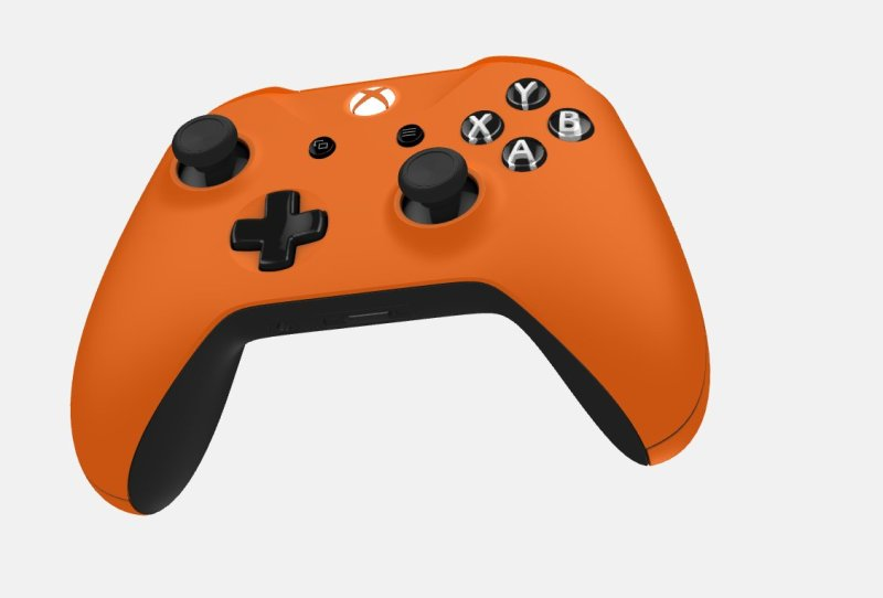 xbox one custom controller orange