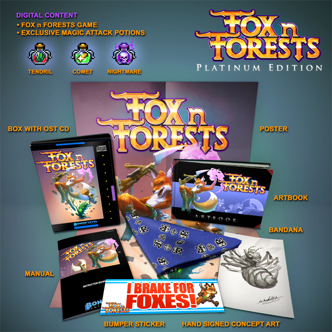 FOX n FORESTS kickstarter Belohnung