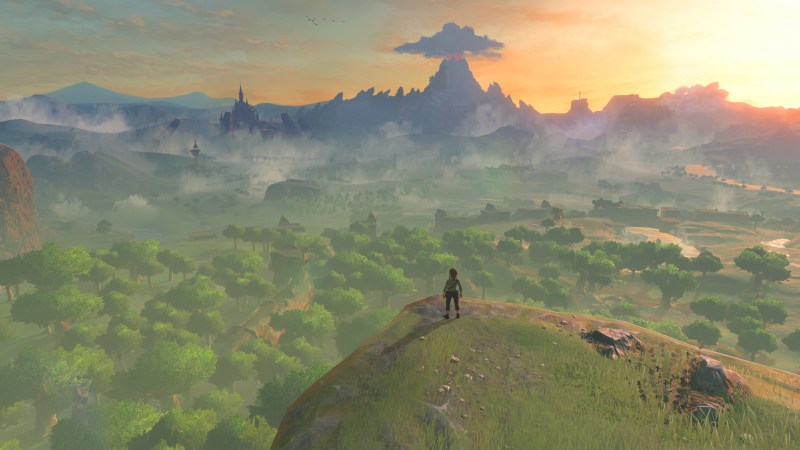 Zelda: Breath of the Wild Screenshot gamescom 2016
