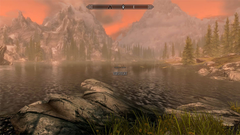 Skyrim SE spielt mit deutlich gesättigteren und schöneren Farben (Version PS4)