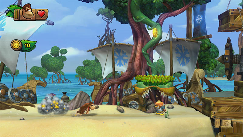Wii U Donkey Kong Tropical Freeze