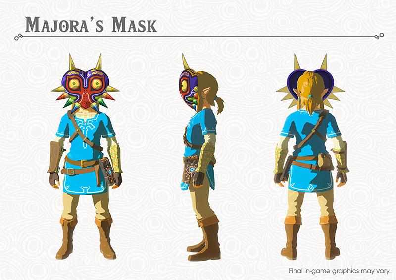Breath of the Wild DLC: Majora's Mask