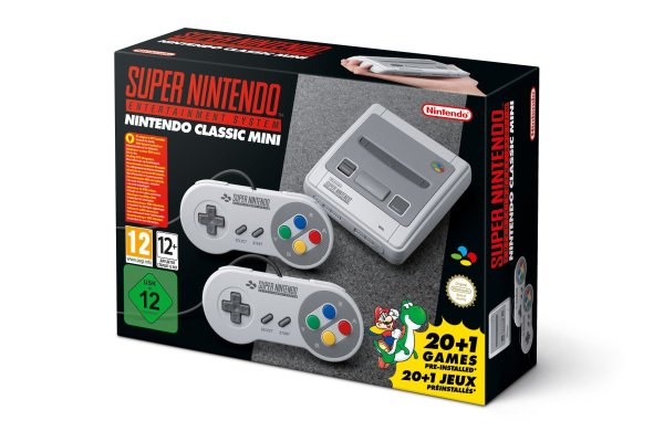 Nintendo Classic Mini: Super Nintendo Entertainment Mini SNES