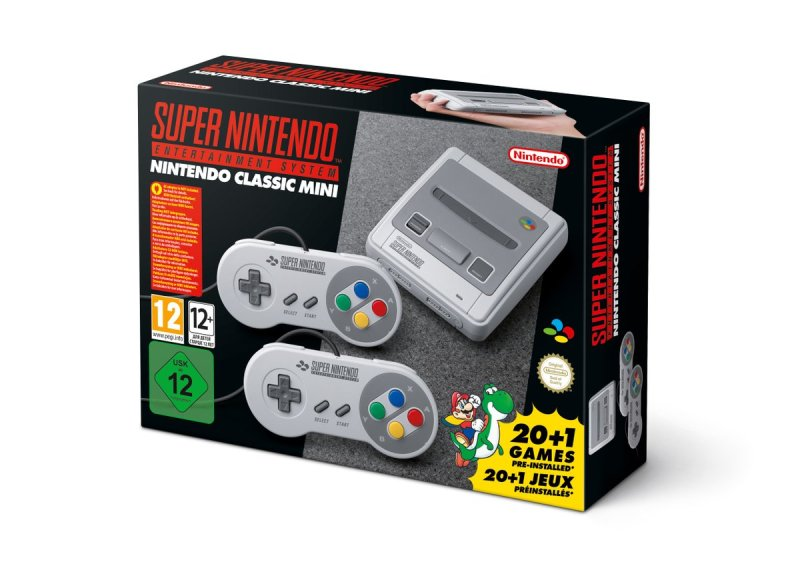 Nintendo Classic Mini: Super Nintendo Entertainment Mini SNES