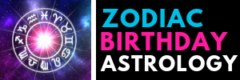 Zodiac Birthday Astrology