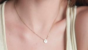 Aries slider necklace