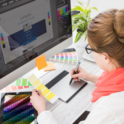 Graphic-designer-at-work.-Color-samples-000089125041_Small