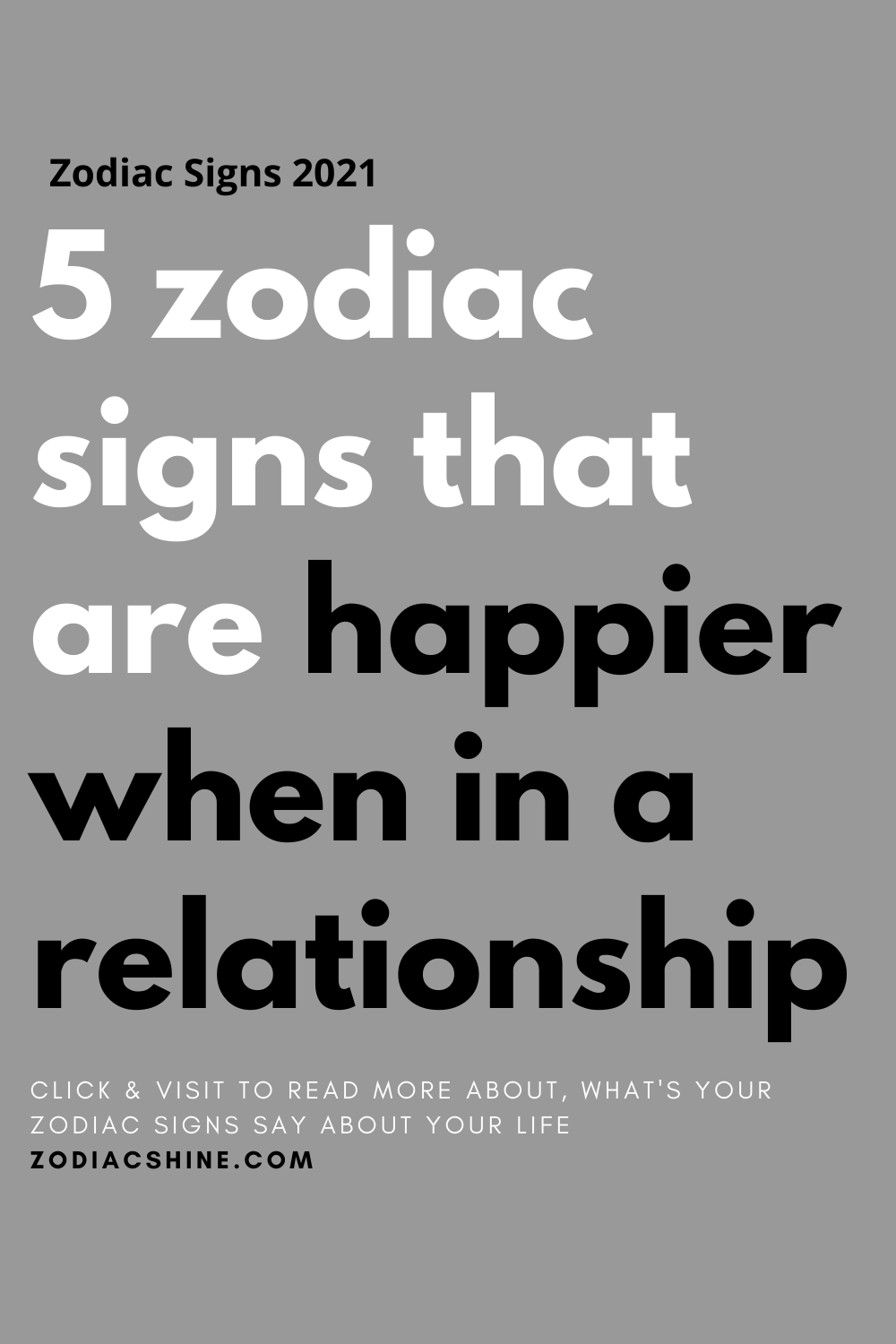 5 zodiac signs that are happier when in a relationship
