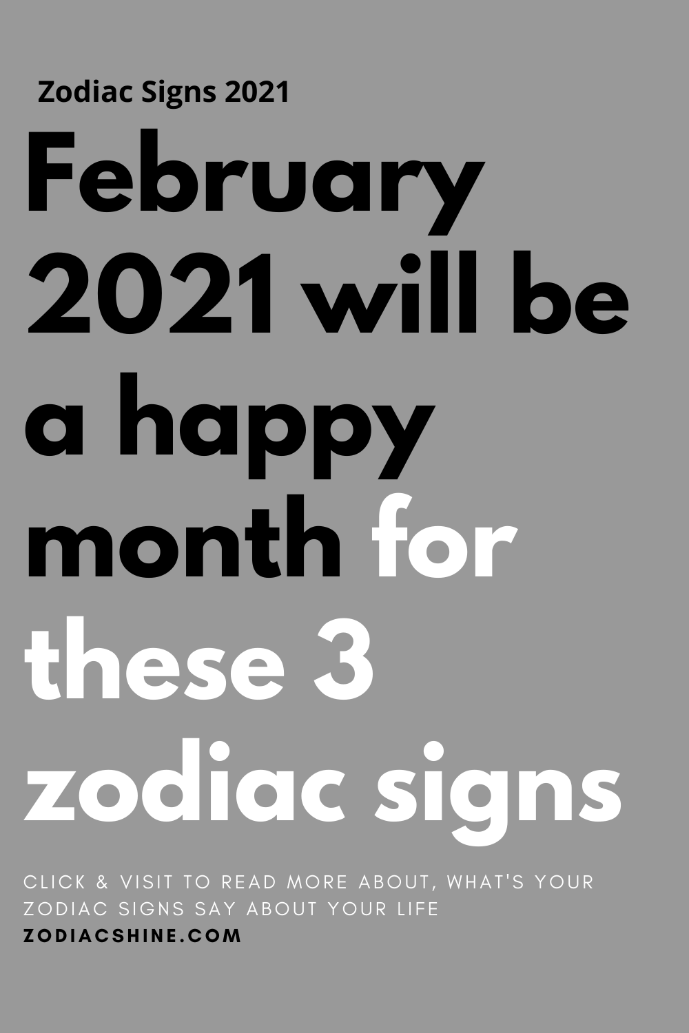 February 2021 will be a happy month for these 3 zodiac signs