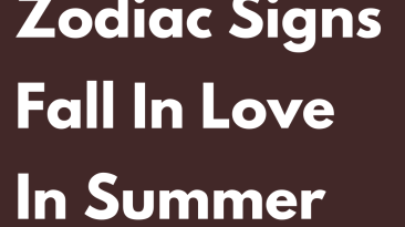 These 3 Zodiac Signs Fall In Love In Summer 2021