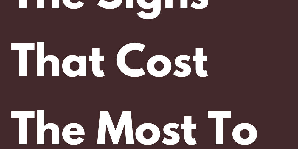 Ranking Of The Signs That Cost The Most To Fall In Love