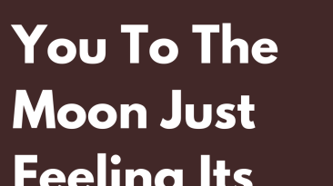 The Signs That Raise You To The Moon Just Feeling Its Breath
