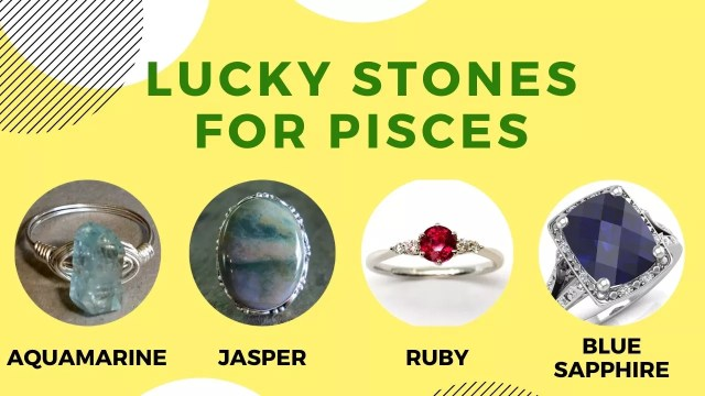 Best and Lucky Stones for Pisces