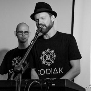 Rockmeni Jacek Piertruszka i Damien Mendlikowski Z Zodiaka