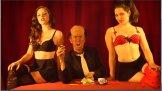Playing Berlusconi's girlfriend in Rap News 6