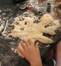 making pokemon bread