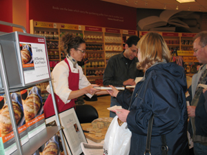 book signing at Rosedale Borders