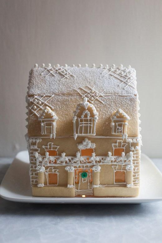 Sugar Cookie House | ZoëBakes